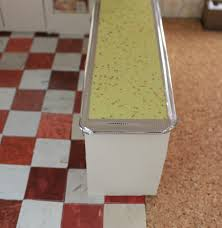 Glitter Laminate Flooring A Vintage Custom Kitchen For The Betsy Mccall Dollhouse Retro