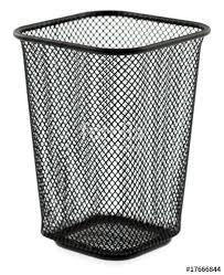 poubelle bureau poubelle métal vide poche bureau photo libre de droits sur la