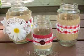 thrifty jar crafts