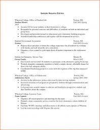 Sample Resume For First Year College Student by College Application Resume Template Sample Freshman College