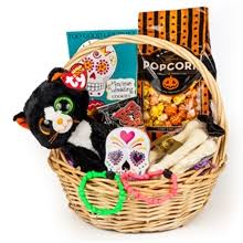 halloween gift basket trick or treat holiday gift baskets sf