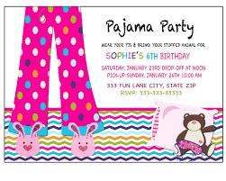 sleepover invitation pajama party invitation by blueangeldigitals