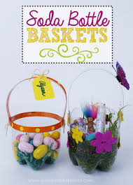 cheap easter baskets plastic bottle diy easter baskets