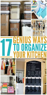How To Organize Your Kitchen Pantry - how to organize a kitchen
