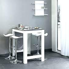 table cuisine haute table bar blanche bar de cuisine design chaise haute blanche de
