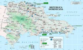 Physical Map Of America by Maps Of Dominican Dominican Republic Map Library Maps Of The