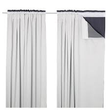 Blackout Curtain Lining Ikea Designs Ikea Glansnäva Curtain Liners 1 Pair 56x114 034 The