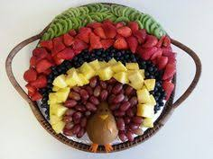 turkey fruit platter thanksgiving turkey fruit