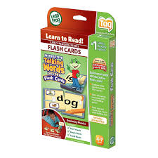 Leapfrog Phonics Desk Leapfrog Leapreader Tag Talking Words 40 Flash Cards Begin Phonics