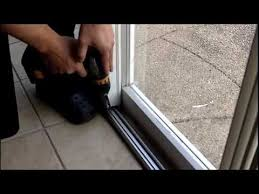 Sliding Patio Door Foot Lock How To Install A Gliding Patio Door Foot Lock