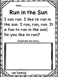 very simple sentences for beginning readers with common sight