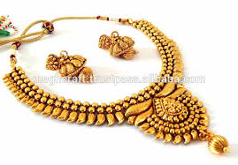 gold choker necklace wholesale images Indian wholesale one gram gold plated jewelry wedding wear jpg