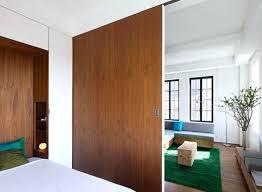 separation chambre salon idee separation chambre salon separer le lit doubles de salon avec