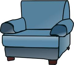Big Armchair Comfy Chair Cliparts Cliparts Zone