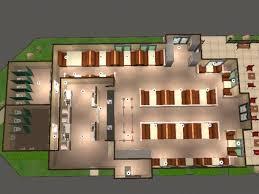 pizza shop floor plan mod the sims dairy queen