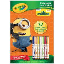 amazon crayola color activity book minions toys u0026 games