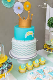 prince baby shower cake prince crown baby shower baby shower ideas themes