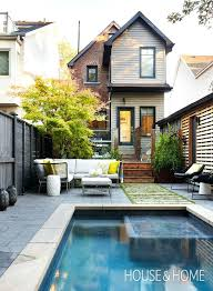 Ideas For A Small Backyard by Pool Styles For Small Yards Small Backyard Pool Dimensions Pool
