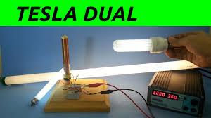 bobina tesla slayer potenciada con doble primario wolna energia