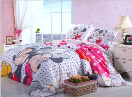 Minnie Bedroom Set by Fashionable Kids Room 3d Mickey Minnie Mouse Bedding Set
