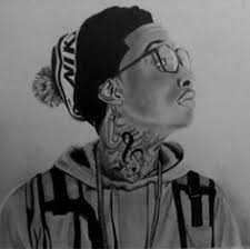 awesome drawing of wiz khalifa more jamaican talent jamaican