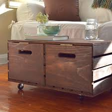 Diy Ottoman Coffee Table Brilliant Storage Coffee Table Ottoman Diy Storage Ottoman The
