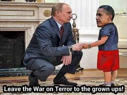 Putin Obama Meme - putin behaved like only adult in the room as outgoing obama