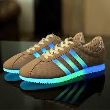 light up tennis shoes for led luminous shoes unisex men women shoes fluorescent glowing light