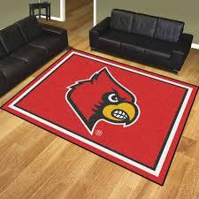 8x10 Area Rug Of Louisville Cardinals Area Rug 8 X 10