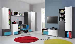 bureau chambre ado vente bureau moderne pour chambre ados avec 3 tiroirs