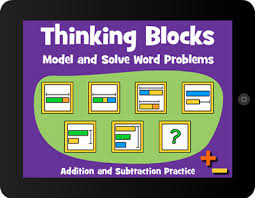 thinking blocks model and solve math word problems