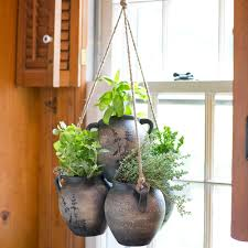 herb planters and pots for indoor herb gardens