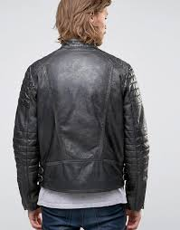 buy biker jacket buy leather biker jacket with quilting in black leather hits