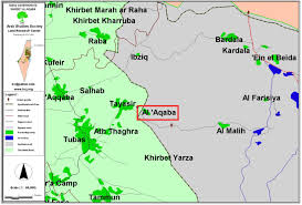 The Villages Map The Suffocation Of All Forms Of Viable Life In Al Aqaba Village