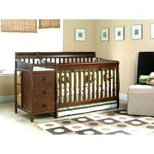 Cribs With Changing Tables Attached Luxury Cribs With Attached Changing Table Dresser Crib And