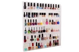 amazon com tms large acrylic clear nail polish organizer display