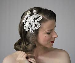 1950s headband 1129 best hair candy images on flower hair hair