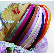 wholesale hair accessories 50 pieces wholesale blank solid colors fabric covered headband