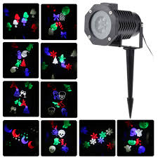 Light Flurries Snowflake Projector by Tomshine 6w 4led Rgbw Outdoor Snowflake Film Projector Spot Sales