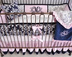 Elegant Crib Bedding Elegant Crib Bedding Etsy