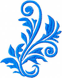 free leaves ornament machine embroidery design a stitch in time