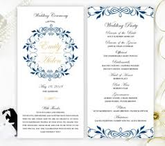 wedding programs wedding programs lemonwedding