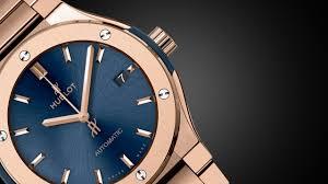 blue titanium bracelet hublot images Hublot classic fusion blue bracelet collection jpg