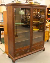 found in ithaca beautiful antique quarter sawn oak bookcase with