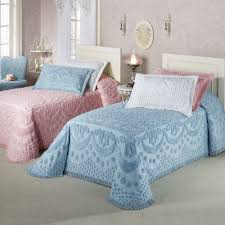 Solid Pink Comforter Twin Solid Color Bedspreads Touch Of Class