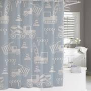 Kassatex Shower Curtain Construction Shower Curtain Collection
