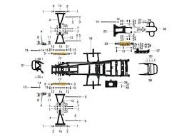 chinese atv frame diagram