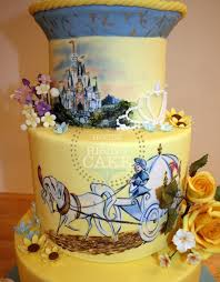 disney fairytale cinderella wedding cake disney wedding cakes