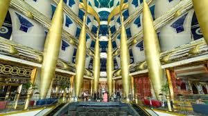 interior architecture of burj al arab timelapse in dubai youtube