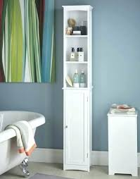 Bathroom Tower Cabinet Bathroom Storage Tower Cabinet Narrow Bathroom Storage Cabinet